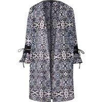 Petite Mono Longline Kimono