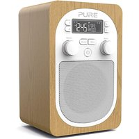 PURE EVOKE H2 DAB RADIO OAK