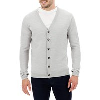 Light Grey Button Cardigan