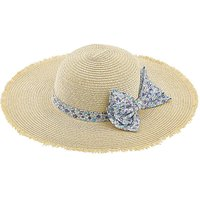 Monsoon Lisa Ditsy Bow Floppy Hat