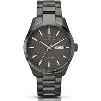 Accurist Gents Gunmetal Bracelet Watch