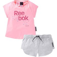 Reebok Girls T-Shirt And Shorts Set