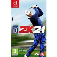 PGA Tour 2K21 Switch.