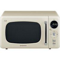 'Daewoo Kor9lbkc 20l Microwave - Cream