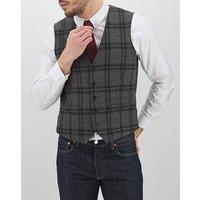 Grey Check Anthony Waistcoat