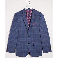 Denim Check Ricardo Regular Suit Jacket