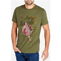 Joe Browns Army Supplies T-Shirt Long