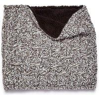 Capsule Grey Fleece Lined Snood