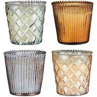 Set of 4 Jasmine Capri Candles.