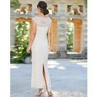 Joanna Hope Bridal Beaded Maxi Dress
