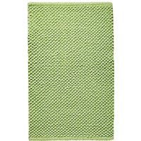 Cotton Bobble Bath Mats - Leaf Green