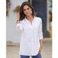 Together Lace Detail Cotton Shirt