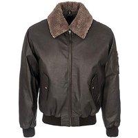 Woodland Leather Aviator Jacket