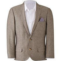 W&B London Oatmeal Mix Suit Jacket R