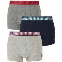 Ben Sherman Pack of 3 Hipsters.