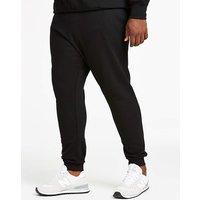Black Cuffed Jog Pants 29in