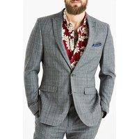 WandB LONDON Slim Fit Check Suit Jacket R