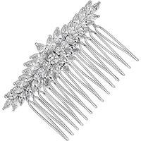 Alan Hannah crystal clustered hair comb
