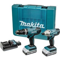 Makita 18v Combi Drill & Driver Kit.