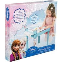 Frozen Colouring Table