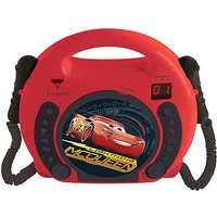 Disney Cars CD player with Mics.