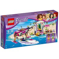 LEGO Friends Summer Andreas Speedboat