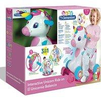 Image of Baby Clementoni Rocking Unicorn