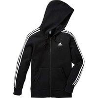 Adidas Black Essential Full-zip Hoodie