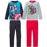 Avengers Boys Pack of Two Pyjamas