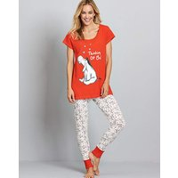 Eeyore Printed Pyjama Set