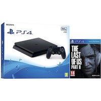 PS4 500GB Console and The Last of Us 2.