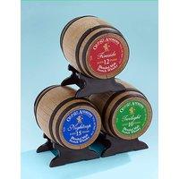 Image of Old St. Andrews Set of 3 Whisky Barrels