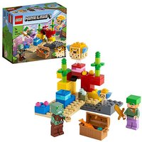 LEGO Minecraft The Coral Reef.