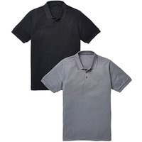 Capsule Pack of 2 Poly Polos