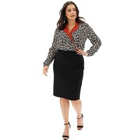 Shape and Sculpt Ponte Pencil Skirt