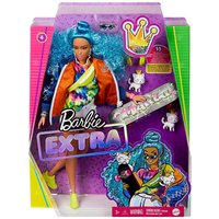 Barbie Xtra Blue Afro Hair.