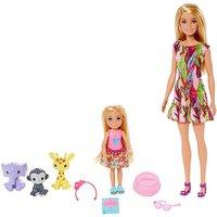 Barbie Dreamhouse Barbie & Chelsea Story.