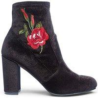 Carla Stretch Sock Boot E Fit