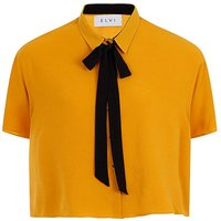 Elvi Boxy Shirt with Bow.
