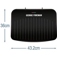 George Foreman Large 25820 Fit Grill.