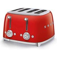 Smeg TSF03 4 Slice Red Toaster.