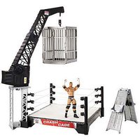 Crash Cage Playset and Triple H Figure