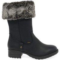 Rieker Newam Standard Fit Calf Boots.