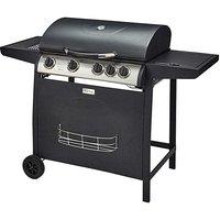 4 Burner Gas BBQ with Side Burner