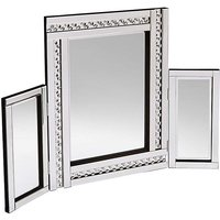 Glitz Silver Dressing Table Mirror