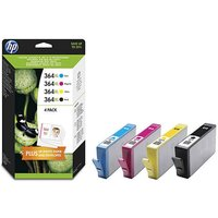HP 364 XL Black & Colour Ink Cartridge