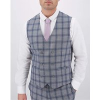 Check Maurice Double Breasted Waistcoat