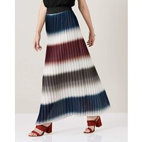 James Lakeland Pleated Maxi Skirt.