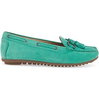 Image of Premium Suede Loafers EEE Fit