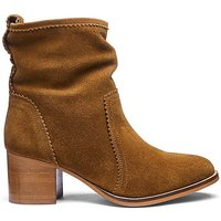 Suede Pull On Boots E Fit
